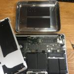 macbook pro retina 2013 ロジックボード交換